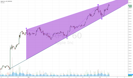 AAPL: AAPL Ending Triangle Formation