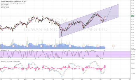 TSM: TSM nice bounce in uptrend channel