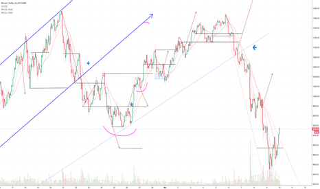 BTCUSD: BTC:USD 1 hour chart DAILY UPDATE (day 16)