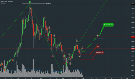 BTCUSD: still did't finish the first wave