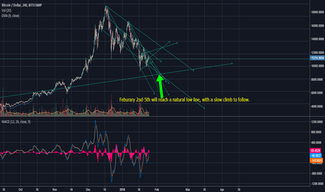 BTCUSD: Feburary 2nd-5th will restart the natural flow of Bitcoin