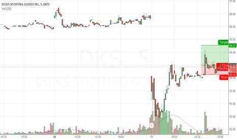 DKS: Long $DKS
