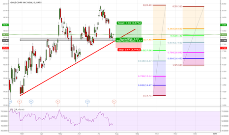 GG: Goldcorp Inc long entry [Just an idea]