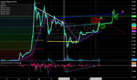 LTCUSD: Picking Up.. This is where we blast off?