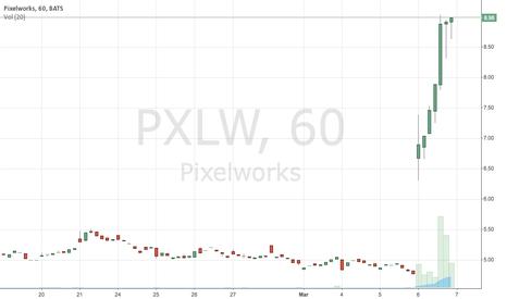 PXLW: PXLW 80% Surge on APPL link