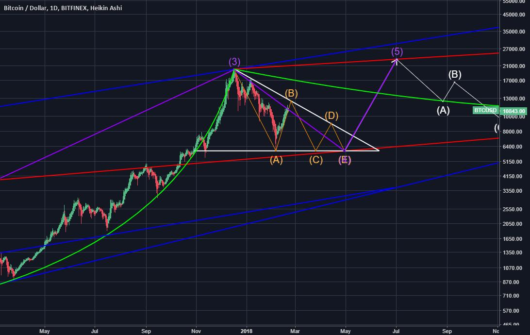 Bitcoin Log Chart
