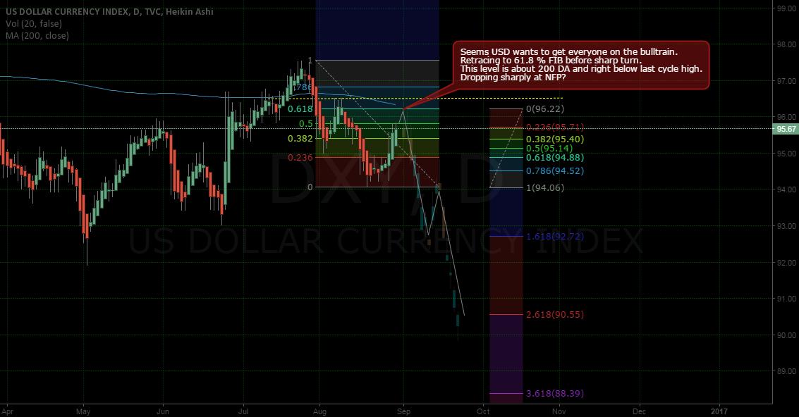 USD's fake bulltrain