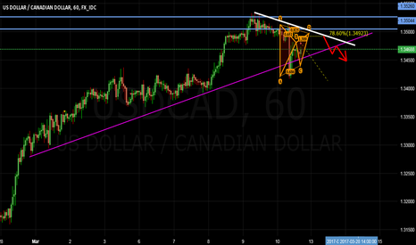 USDCAD: UsdCad going to the ground or nah?
