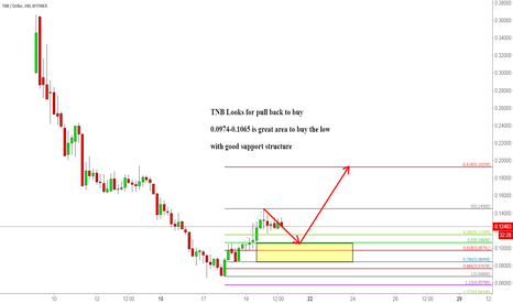 TNBUSD: TNB Looks for pull back to buy