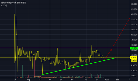 VERIUSD: Buy at support for 200% profit