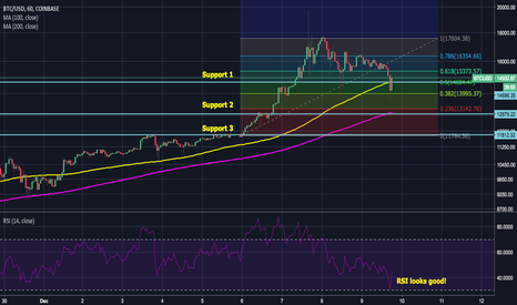 "BTCUSD: Bitcoin ""Dip"" Support Analysis"