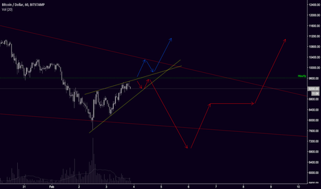 BTCUSD: Red pill or blue pill for BTC