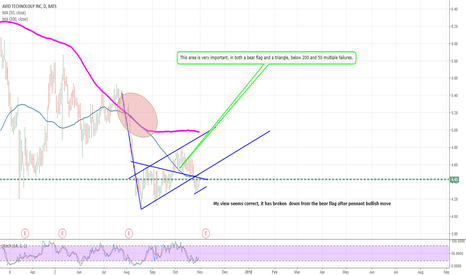 AVID: My view seems correct, it has broken  down from the bear flag