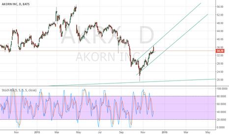 AKRX: Akorn Long