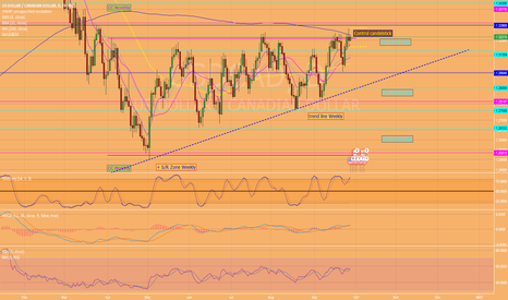 USDCAD: If it breaks the control candelstick, it could hurt!