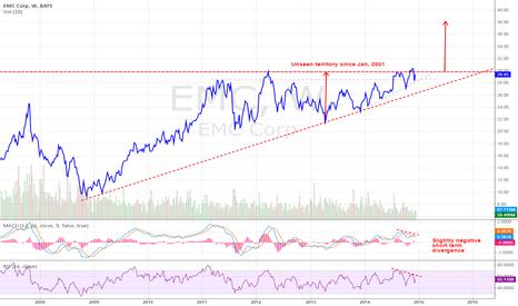EMC: EMC Is Ready To Take Off (long-term)