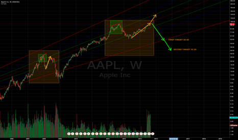 AAPL: We might see historical low prices on Apple in the next 2 years