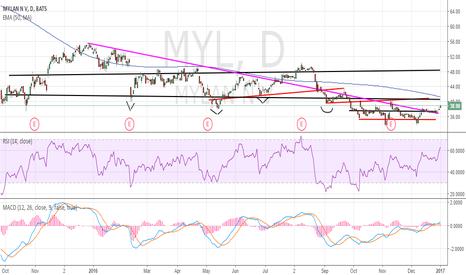 MYL: $MYL chart set up for public analysis