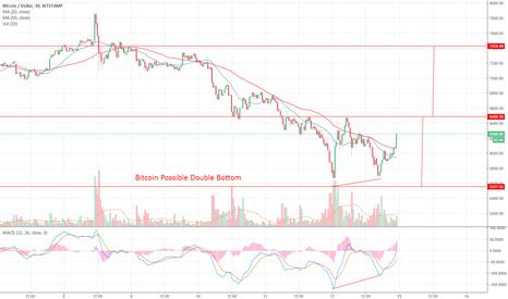 BTCUSD: Bitcoin Possible Double Bottom
