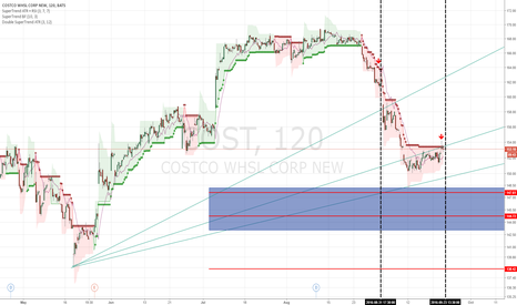 COST: Costco ( COST ) Timing & level very close. Another leg down?