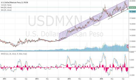 USDMXN: USD/MXN mantains its upward movement