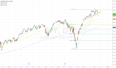 SPY: Corrective action in SPY after all the rallying been done
