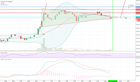 BTCUSD: penant and continuation of up trend