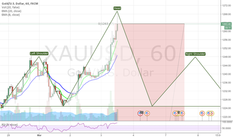 XAUUSD: Another HS bold prediction