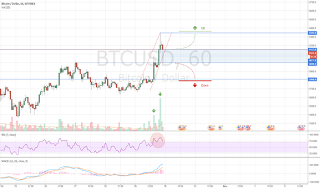 BTCUSD: BTC - Looking for Intraday Longs and Shorts in this Zone