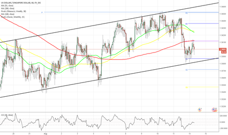 USDSGD: USD/SGD 1H Chart: Channel Up