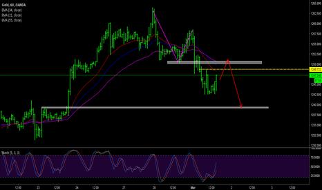 XAUUSD: Gold day trading plan Mar 1