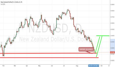 NZDUSD: NZD/USD : SUPPORT ZONE