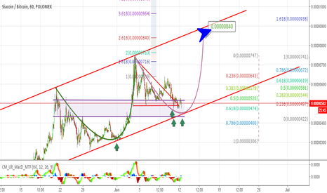 SCBTC: #SC update: Creat a new bottom - $SC