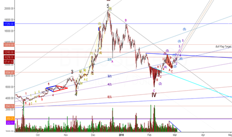 BTCUSD: BTC Inverse H&S with Bull Flag target!