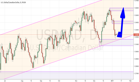 USDCAD: Looking for a return to the highs