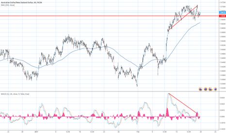AUDNZD: Is this divergence?
