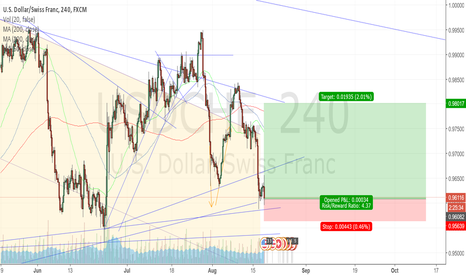 USDCHF: Small post FOMC minutes punt