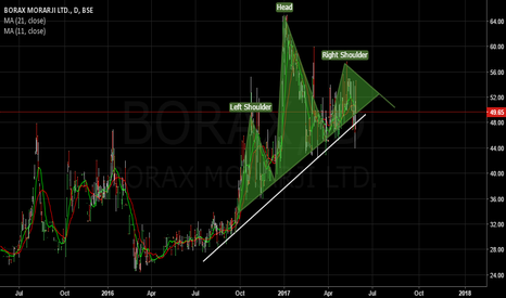BORAX:  Head and solder pattern in BORAX. currently trading at 49.65 Rs