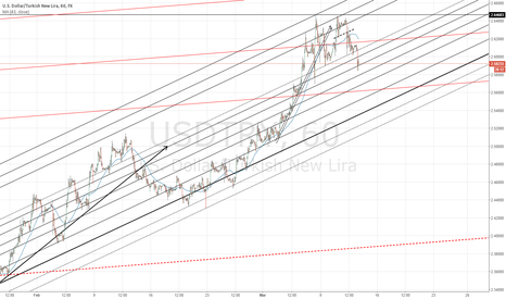 USDTRY: 2,57 is on target before another rise.