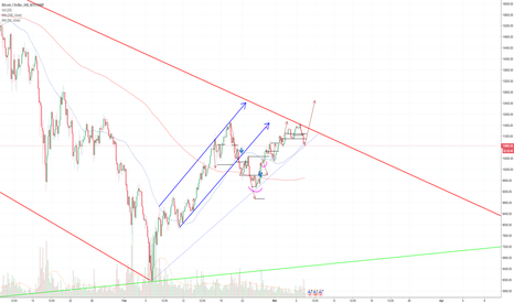 BTCUSD: BTC:USD 1 hour chart DAILY UPDATE (day 13)