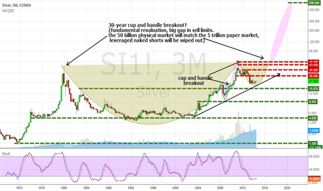 SI1!: Long term play due to inflation / large margin for naked shorts