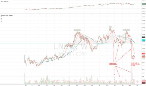 LNKD: LinkedIn on Verge of Breaking Down