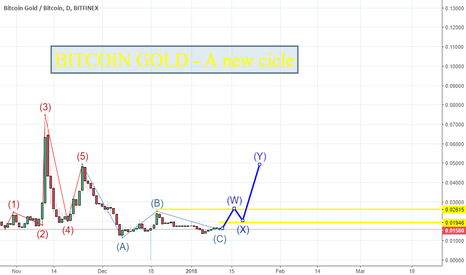BTGBTC: Bitcoin Gold - A new cicle