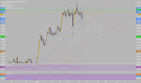 USDCAD: temporary goes short on this PAIR