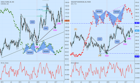 XAUEUR: What is the hike doing - Euro, DXY Vs. heavy metal