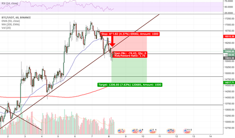 BTCUSDT: BTC just broke support. This could be the crash