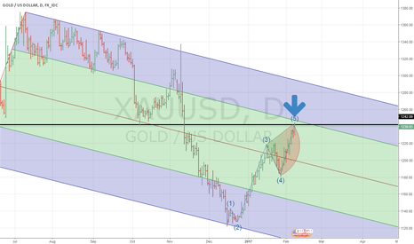 XAUUSD: GOLD DAILY PITCHFORK