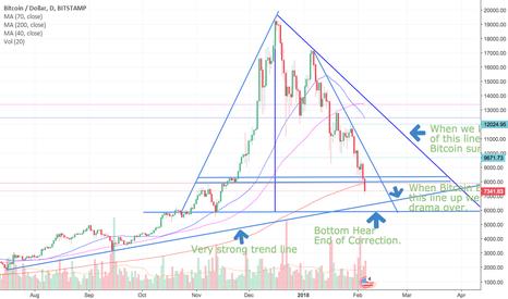 BTCUSD: Bitcoin Bottom @ $5817