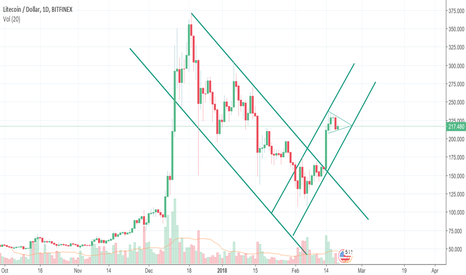 LTCUSD: Bull flag within new upwards channel