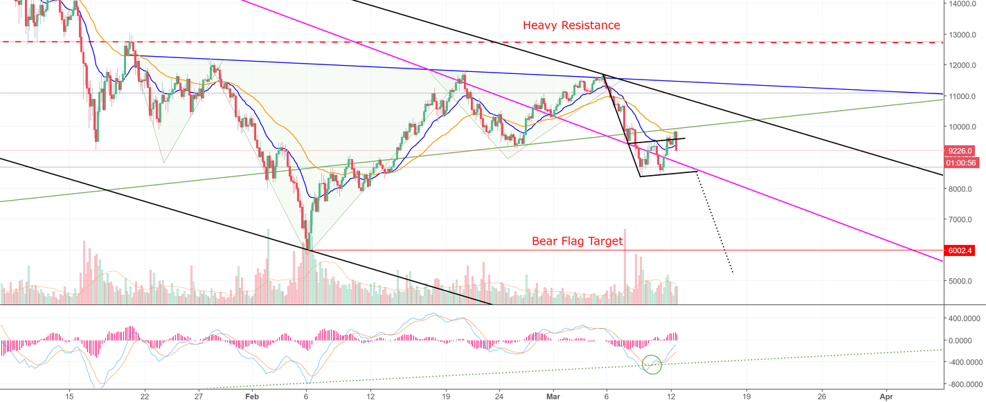 Bitcoin is Gearing Up For A Nasty Retest of 6K! (BTC)